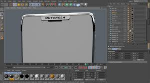 The start of the 3D modelling process