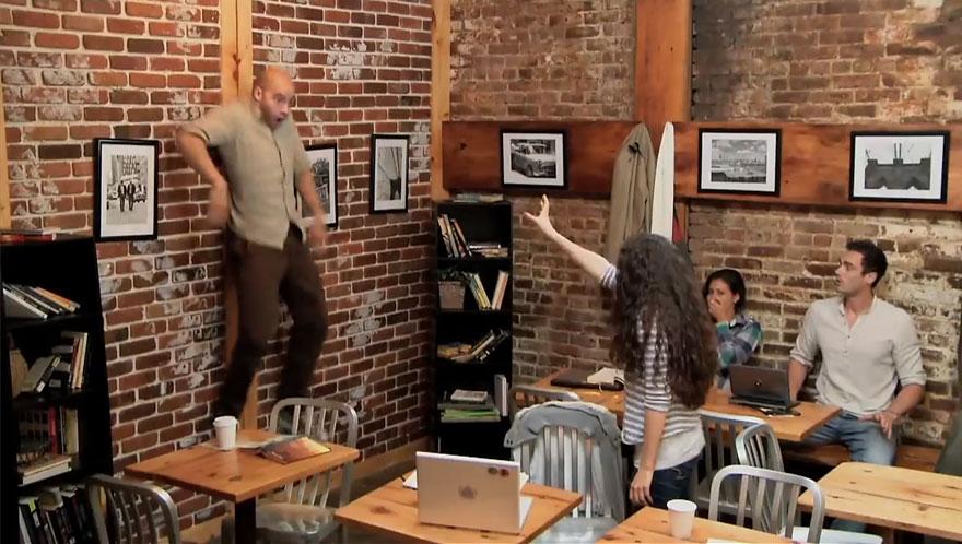 Carrie Telekentic Coffee Shop Image